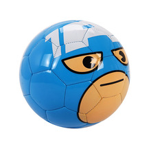 5pcs/lot DISNEY Captain America Football Children Kids Cartoon PVC Official Size 2 training Outdoor Sports Soccer Ball Equipment(China)