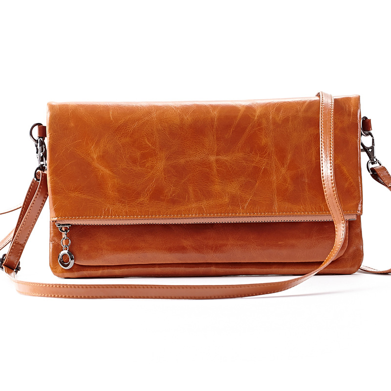 Genuine Leather Women Envelope Messenger Bags Slim Crossbody Shoulder Bags Handbag Small Cross Body Bags Satchel Ladies Purses<br><br>Aliexpress