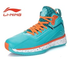 Li-Ning Original Outdoor Basketball Shoes Men Bounse Techonology Tuff Lace-Up Damping Wade Sneakers Sport Shoes