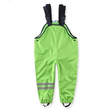 Boys Overall,WarterProof Kid Clothes,Baby Boy Girl Clothes,girls Rain Pants,kids Ski suit Outdoor Pants,For 2-7 Year(China)