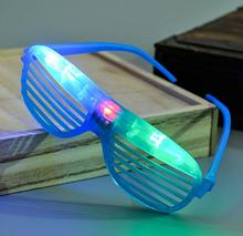 Light Up Glow Shutter Glasses LED Shades Flashing luminous Wedding Hen Night Fancy Dress Concert Cheer atmosphere props gift