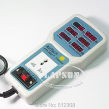 0.01W-660W Electric Power Energy Monitor LED Light Tester Socket Watt Meter Analyzer ATX 9801 with LED Light Test Slot