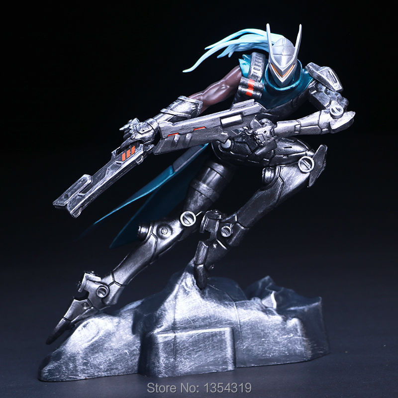 The Purifier Lucian Action Figure 1/8 scale painted figure Project Lucian The Purifier Doll PVC ACGN figure Toy Brinquedos Anime<br>