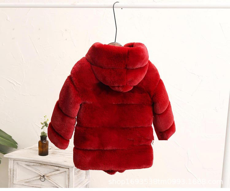 3 T Kids fur coat NOS Soviet vintage toddlers faux fur coat Warm winter coat for children Unisex kids coat