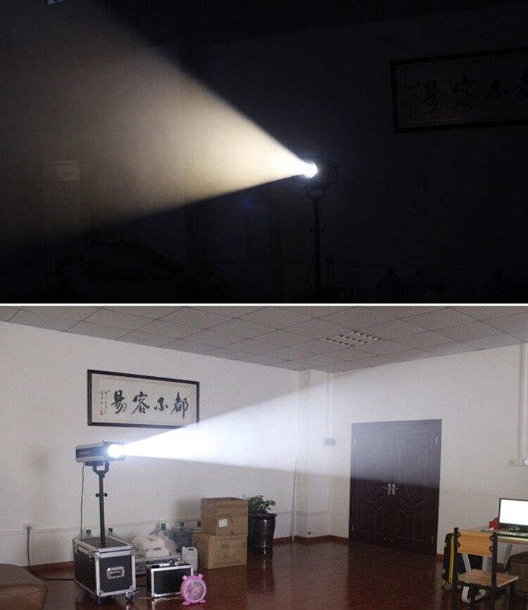effect following spot lighting