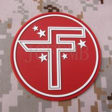 red background luminous design STAR WARS Repubilc Credits Logo  Military Tactics Morale Airsoft 3D PVC patch PB1719
