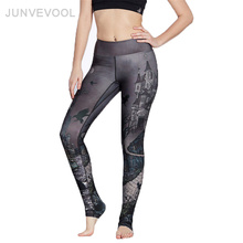 Buy Gothic Fitness Leggings Harajuku Sexy Pants Elastic Women Legging Darkness High Legins Push Workout Trousers Leggings for $12.26 in AliExpress store