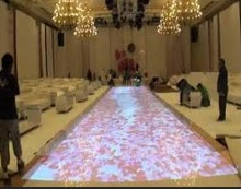 DefiLabs 130 effectives Interactive floor projection system ,(China)