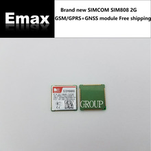 2PCS/LOT SIM808 GSM/GPRS GPS Bluetooth Combo Wireless Module Guaranteed 100% New Original Genuine For satellite navigation stock