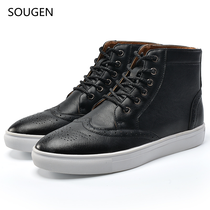 2017 Winter Boots Men Shoes Hight Quality Motorcycle Military Man Cowboy Ankle Snow Leather Timber Brand Mens Casual Black<br><br>Aliexpress