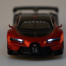 New 1:32 Toy Car Bugatti Metal Alloy Diecast Car Model Miniature Scale Model Sound and Light Model Car Toys For Children