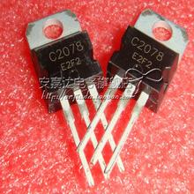 Free shipping 5pcs/lot  NPN transistor, 27MHz RF  amplifier 2SC2078 C2078 TO-220 original Product