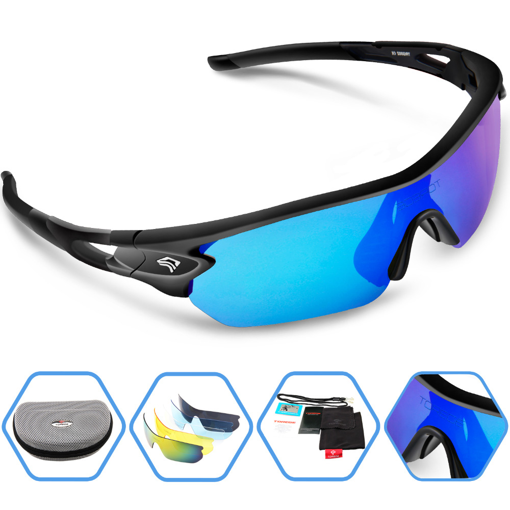 2016 New Brand Outdoor Sports Polarized Sunglasses Fashion Sport Glasses for Climbing Running Fishing Golf Eyewear 100% UV400<br><br>Aliexpress
