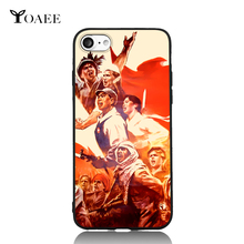 Chinese the Great Cultural Revolution China History For iPhone 5s SE 6 6s 7 Plus Case TPU Phone Cases Cover Mobile Decor Gift(China)
