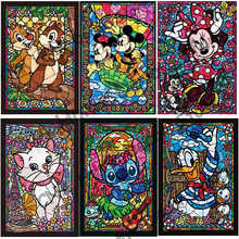 Cartoon Square Full Drill Mosaic Rhinestone 5D DIY Diamond painting cross stitch kits handmade embroidery Needlework for child