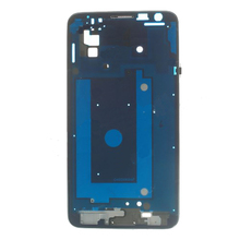 OEM Front Housing  Frame Bezel Plate for Samsung Galaxy Note 3 Neo N750 - Silver