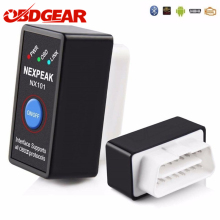 Super Mini Elm327 Bluetooth OBD2 2 V1.5 Elm 327 v 1.5 OBD Scanner de Diagnóstico Do Carro-Ferramenta Elm-327 adaptador OBDII Auto Ferramenta de Diagnóstico(China)