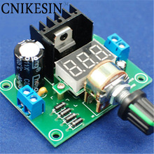CNIKESIN diy LM317 adjustable voltage power board kit production, Electronic DIY large secondary school graduation design parts(China)