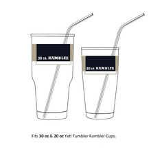 Stainless Steel Straws Durable Reusable Metal 10.5inch Extra Long Bend Drinking Straws for yeti cups 20oz 30oz Tervis Tumbler