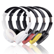 2016 Wireless Bluetooth Headphone Foldable Headband Stereo Headset Hands Free with Audio Aux INput for Cell PHone PC #ED
