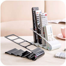 Hot Selling TV Remote Control Phone Storage Box Glasses Organization Desktop Clear Transparent Stand Holder