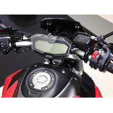 KEMiMOTO For Yamaha MT-07 FZ-07 Cluster Scratch Speedometer Film Screen Protector for Yamaha MT 07 FZ 07 Motorcycle accessories