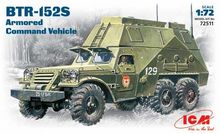 ICM 72511 BTR-152S Soviet armored troop-carrier 1/72 scale kit