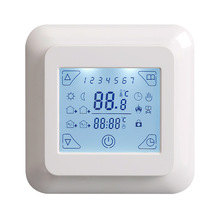 Buy Electric Floor Heating Room Touch Screen Thermostat Warm Floor Heating System Thermoregulator 220V Temperature Controller 16A for $25.46 in AliExpress store