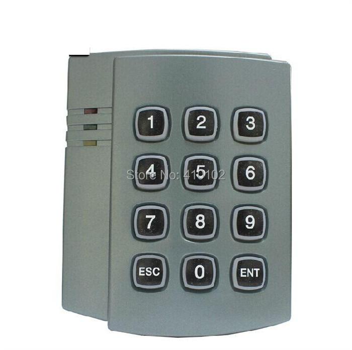 125KHz RFID ID Card Reader Password Keypad Door Access Controller System Kit + 10 Free ID Key Fobs Brand NEW 2501<br><br>Aliexpress