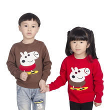 Fall Children Sweaters Girls' Sweaters Cotton Baby Boy Pullover Sweaters for Kids Girls Cartoon Sweater Boys Children's Clothing