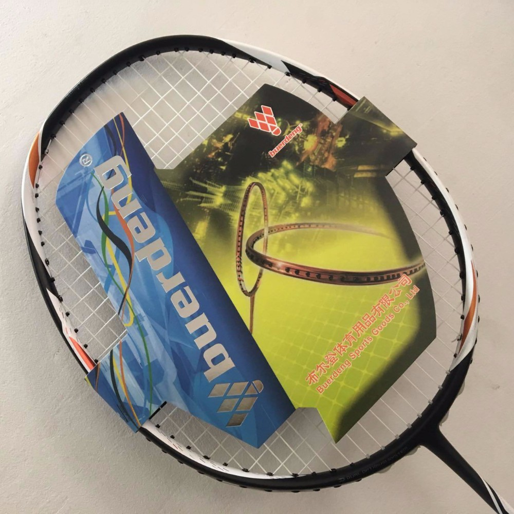 Duora z strike badminton racket with overgrip