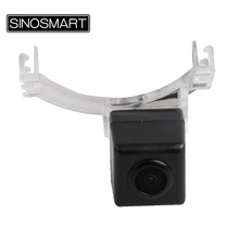 SINOSMART In Stock Car Rear View Parking Backup Camera for Mazda CX-9 Mazda 5 Firm Installation in Number Plate Light Hole