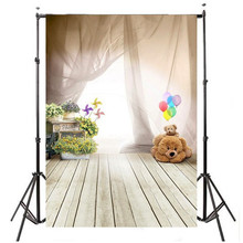 Buy 3x5ft viny Photography Background Studio Photo Props ballon bear children wooden floor Photographic Backdrops Cloth 1x1.5m for $6.99 in AliExpress store