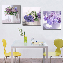most advanced high definition printing simulation oil painting Beautiful purple lavender the sitting room decorate art 1168036