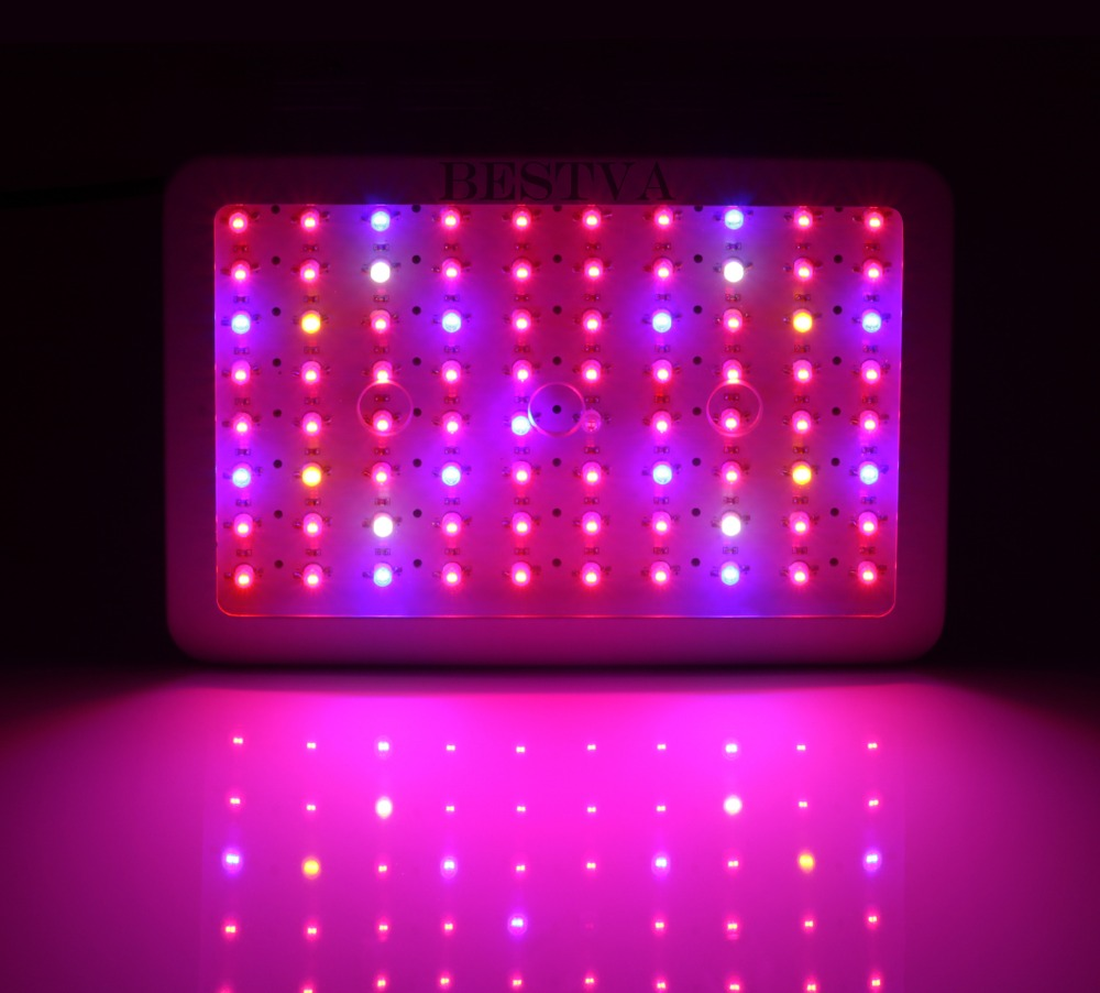 BestVA LED grow light 300/600/800/1000/1200/1500/1800/2000W Full Spectrum for Indoor Greenhouse grow tent plants grow led light