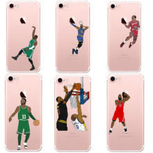 Buy Phone Case NBA Star iphone X 10 James Harden Michael Jordan Lebron King Hard Cover iphone 6 6S Plus 5S SE 7 7Plus 8 8Plus for $1.17 in AliExpress store