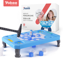 Penguin Trap Puzzle Table Games Balance Ice Cubes Ice breaking Save the Penguin Interactive Family Game(China)