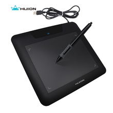 "New HUION 680S 8"" x 6"" Digital Graphic Pen Tablets Professional Animation Painting Boards Art Tablet Pad Black(China)"