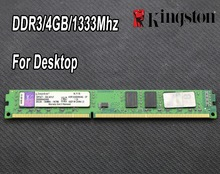 original Kingston DDR3 2GB 4GB PC3-10600 1333MHz 1600Mhz Desktop PC DIMM Memory RAM 240 pins For intel for amd 2g 4g 1333 1600