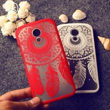 Cell Phone Cases For Motorola Moto G2 Covers G+1 G 2nd Gen. XT1063 XT1068 XT1069 Housing Bags Hollow Dream Catcher Plastic Case