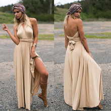 Top Selling Style Method Of Multi Rope Cross Bandage Party Dress Sexy Sleevelesss Halter Dress Long Dress Winter Maxi Dress 2017