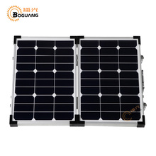 Foldable high efficiency1x60W solar panel kit charge battery directly usb mobile phones and digital camera golf car outdoor use(China)