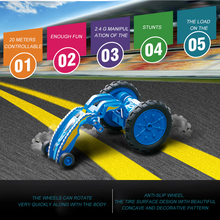 Electric Car Toys Remote Control Dumpers Cars Roll Stunt Car Trendy Design 360 Degree Rotation Fancy Tumbling Toy For Child Toys