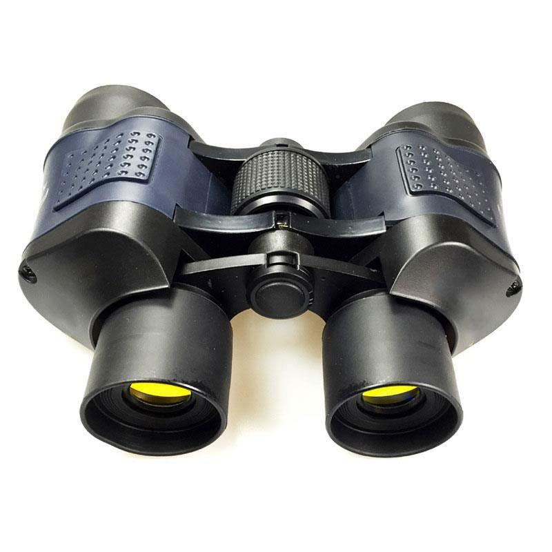 TURE ADVENTURE 60X Magnification 60 x 60 Outdoor Coated Optics Day and Night Vision Working Optical Telescope Binocular<br>