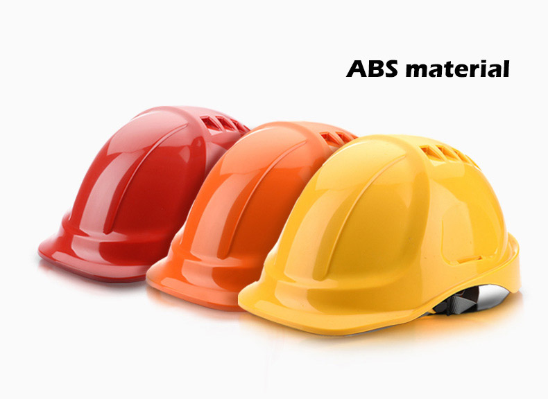 Safety Helmet Hard Hat Work Cap ABS Material Construction Protect Helmets High Quality Breathable Engineering Power Labor Helmet (9)