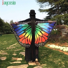 Jaycosin Coolbeener Butterfly Wings Fairy Women Wings Shawl Loose Kimono  Ladies Nymph Pixie Costume Accessory hot selling mar9