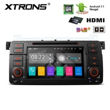 "XTRONS 1 Din 7""HD  Android 7.1 Radio Video GPS Car DVD Player for BMW E46 M3 2000 2001 2002 2003 2004 2005 2006 Rover 75 MG ZT"