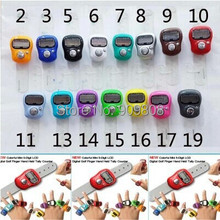 free shipping 500pcs Mini Digital Electronic Muslim Finger Ring Tally Counter Tasbeeh Tasbih Golf &Temple Wholesale Low Price(China)