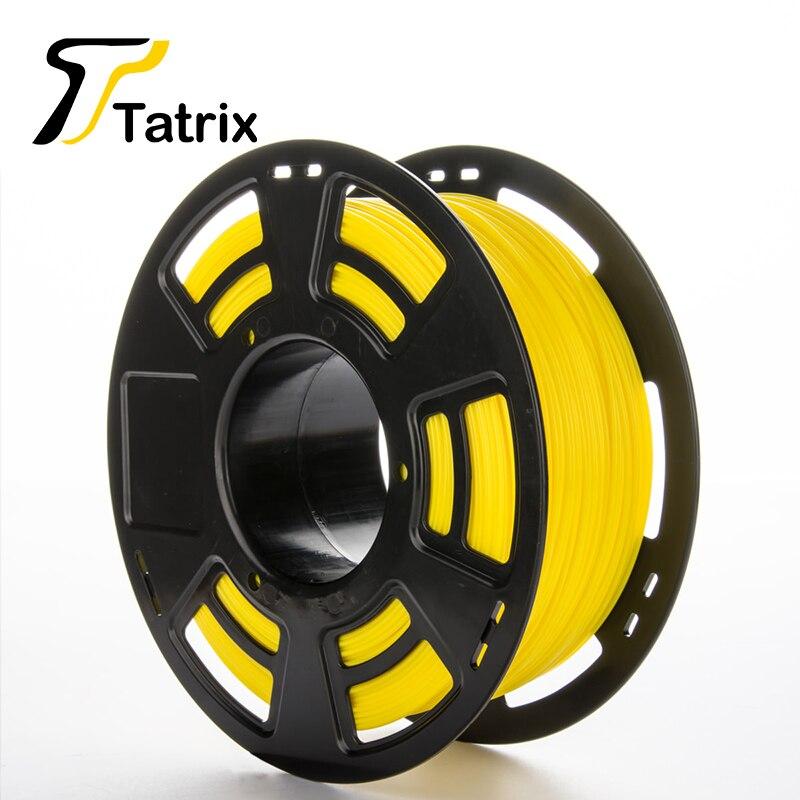 Tatrix Newest 3D Printer Filament Material PLA/ABS 1.75MM Filament For 3D Pen 3D Printer 1KG Rubber Consumables Different Color <br><br>Aliexpress