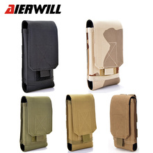 For Blackview BV7000 Pro Outdoor Sports Holster Hook Loop Army Belt Phone Case Cover Bag Pouch Purse For Blackview BV8000 Pro(China)